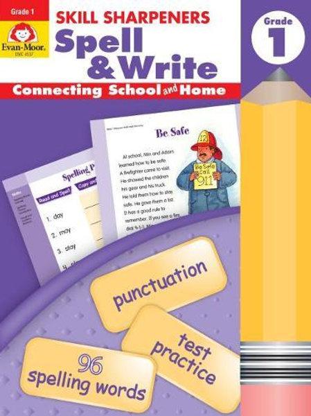 "Skill Sharpeners (Grade 1)  - ""Spell & Write"""