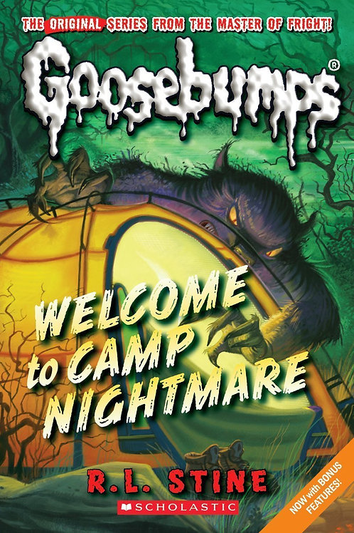 "Goosebumps ""Welcome to Camp Nightmare"""