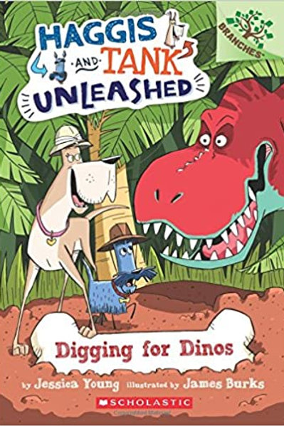 Haggis and Tank Unleashed - Digging for Dinos