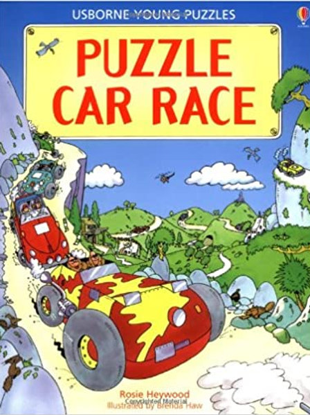 Usborne Young Puzzles - Puzzle Car Race