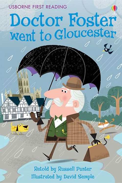 """Usborne First Reading """"Doctor Foster went to Gloucester"""""""