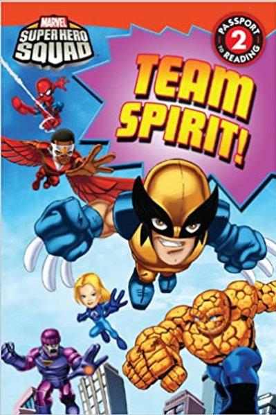 """Marvel Super Hero Squad  - """"Team Spirit!"""""""