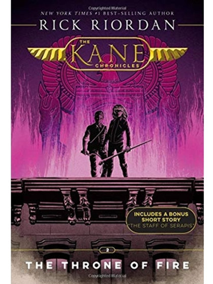 The Kane Chronicles - The Throne of Fire