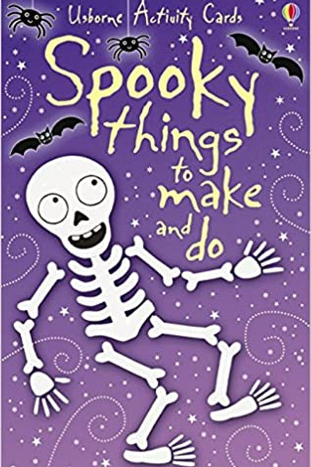 Usborne Activity Cards - 50 Spooky Things to Make and Do