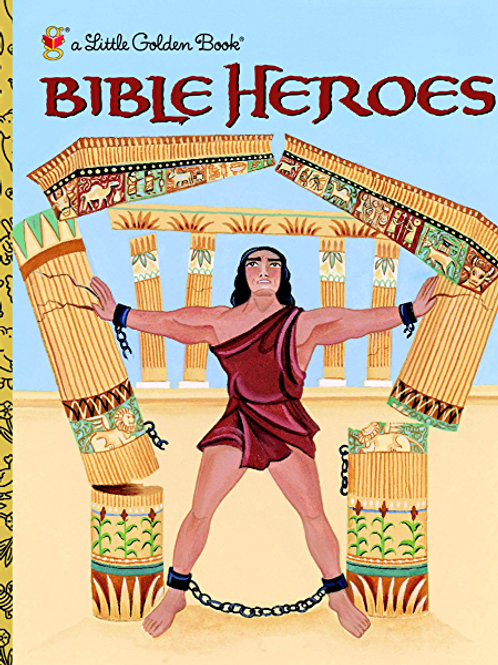 A Little Golden Book - Bible Heroes