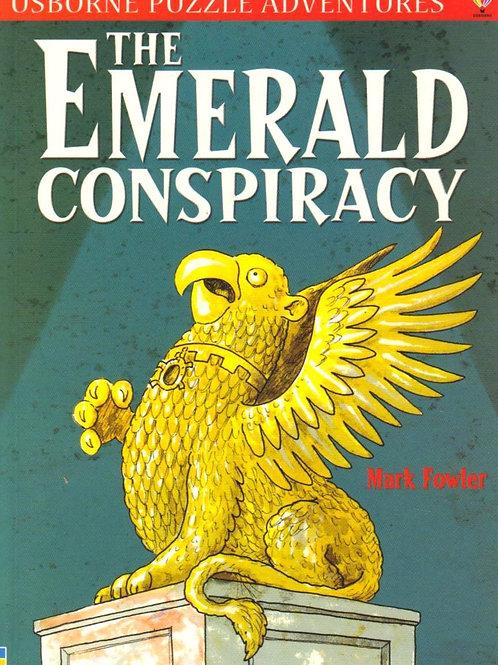 "Usborne Puzzle Adventures ""The Emerald Conspiracy"""