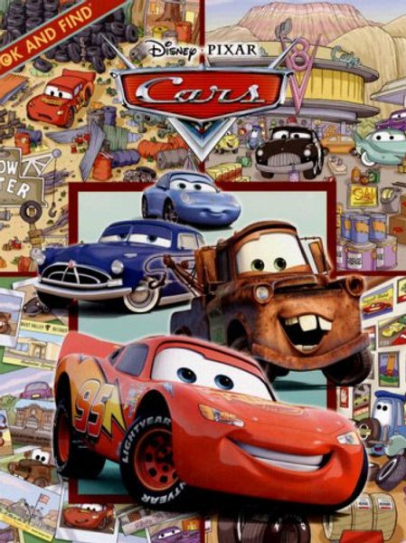 Disney Pixar Cars - Look and Find