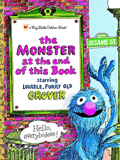 "A Little Golden Book ""The Monster at the End of This Book"""