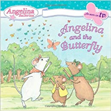 Angelina Ballerina - Angelina and the Butterfly