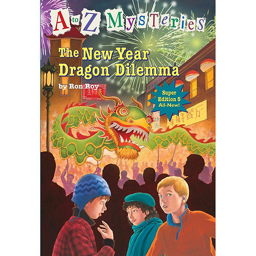 A to Z Mysteries - The New Year Dragon Dilemma