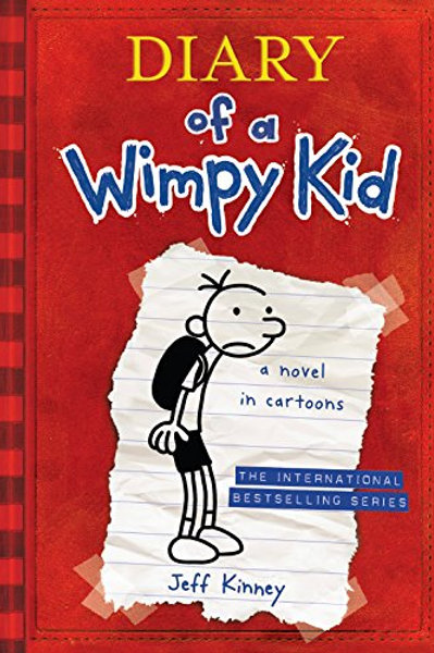 """Diary of a Wimpy Kid """"A Novel in Cartoons"""""""
