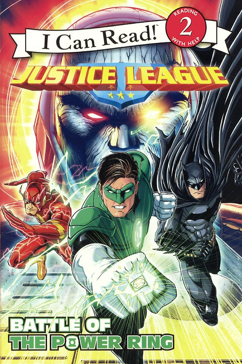 "I Can Read (Level 2) - Justice League ""Battle of the Power Ring"""