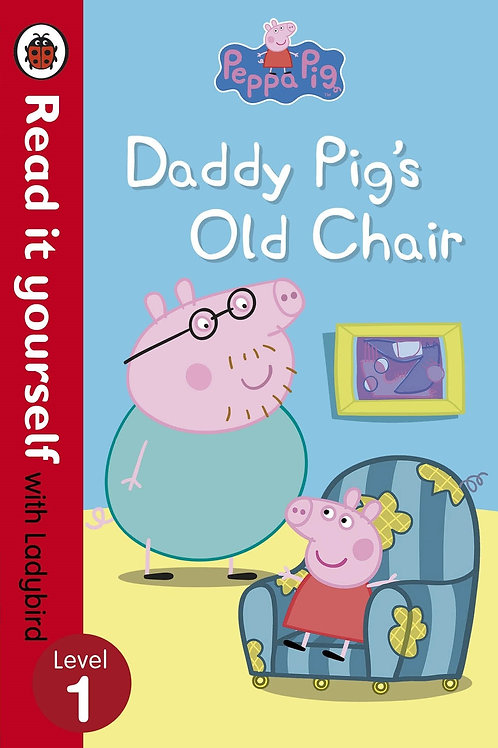 "Peppa Pig ""Daddy Pig's Old Chair"""