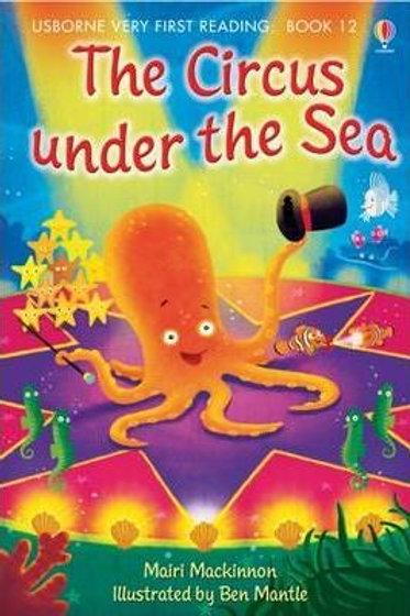 """Usborne Very First Reading (Book 12) - """"The Circus Under the Sea"""""""