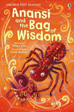 "Usborne First Reading ""Anansi and the Bag of Wisdom"""