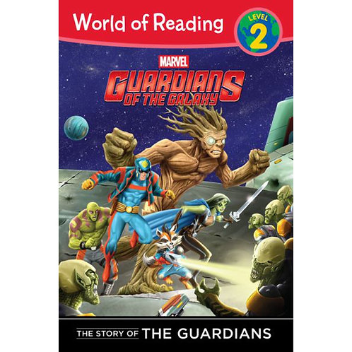 "World of Reading  Level 2 - Guardians of the Galaxy ""The Story of the Guardians"""