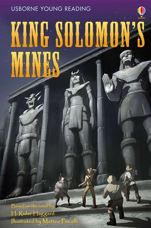 Usborne Young Reading - King Solomon's Mines