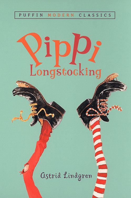 "Puffin Modern Classics ""Pippi Longstocking"""