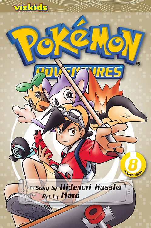 Pokemon Adventures (Vol. 8) - Gold & Silver