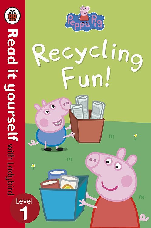 """Read it Yourself with Ladybird Level 1 - Peppa Pig """"Recycling Fun!"""""""