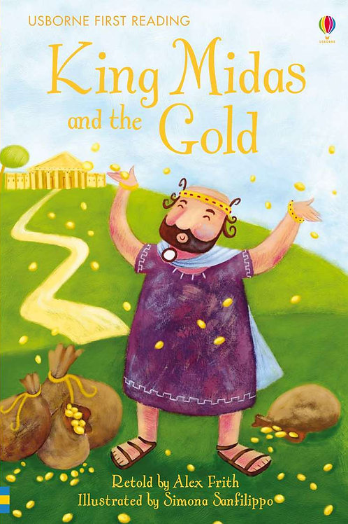 """Usborne First Reading """"King Midas and the Gold"""""""