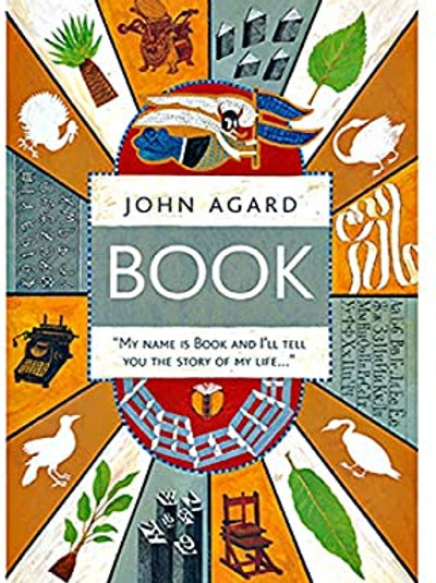 """John Agard Book """"My Name is Book and I'll Tell You the Story of My Life"""