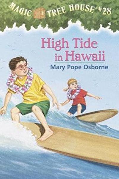 "Magic Tree House #28 - ""High Tide in Hawaii"""