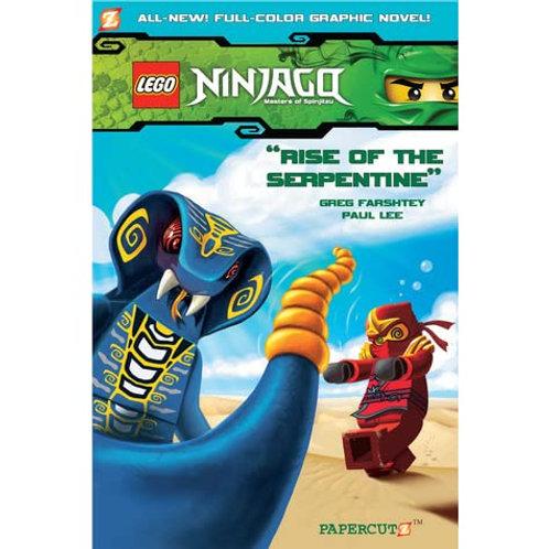 "Lego Ninjago - ""Rise of the Serpentine"""