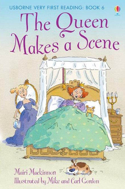 Usborne Young Reading - The Queen Makes a Scene
