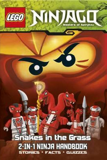 Lego Ninjago Masters of Spinjitzu - Snakes in the Grass (2-in-1 Ninja Handbook)