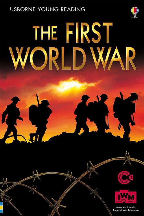 """Usborne Young Reading """"The First World War"""""""