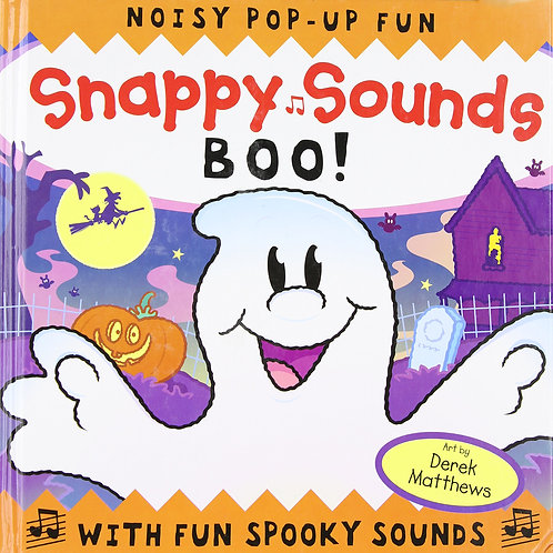 """Noisy Pop-Up Fun """"Snappy Sounds BOO!"""""""