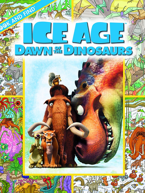 "Look and Find - Ice Age ""Dawn of the Dinosaurs"""