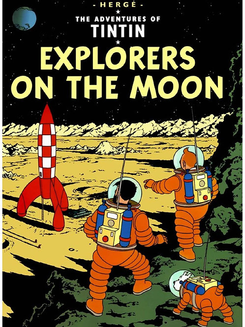 "The Adventures of Tintin ""Explorers of the Moon"""