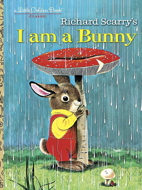 "A Little Golden Book - Richard Scarry's ""I am a Bunny"""