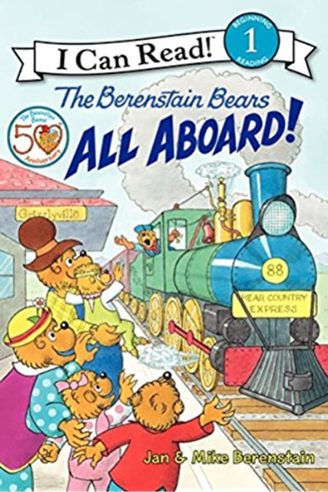 I Can Read! (Level 1) - The Berenstain Bears All Aboard!