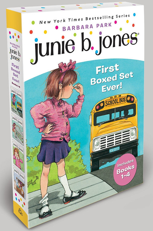 """Junie B. Jones - """"First Boxed Set Ever!"""" (Includes Books 1 - 4)"""