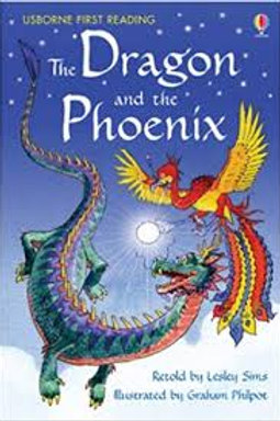 """Usborne First Reading """"The Dragon and the Phoenix"""""""