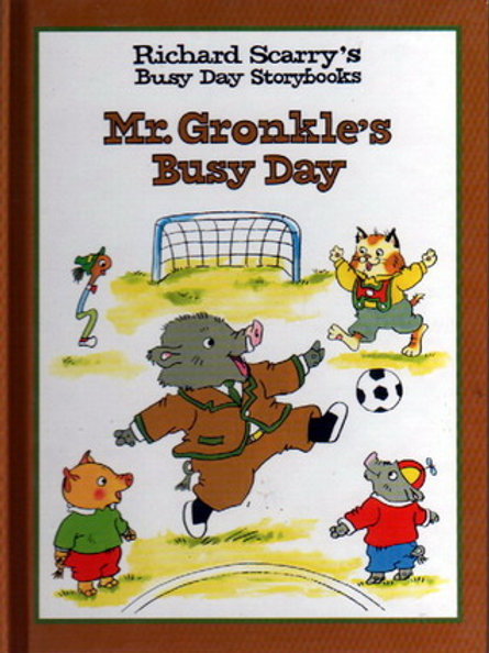 Mr. Gronkle's Busy Day