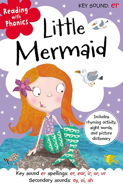"Reading with Phonics ""Little Mermaid"""