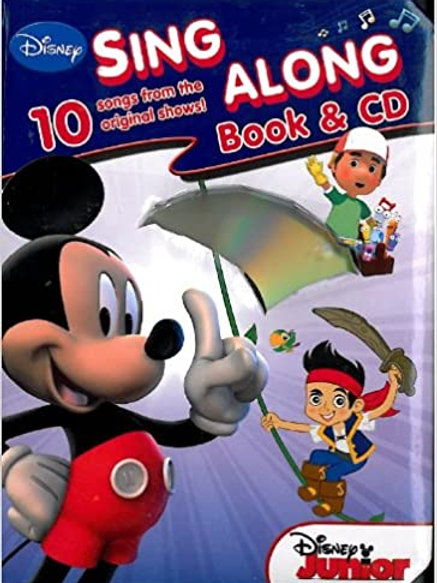 "Disney - ""Sing Along Book & CD (10 Songs from Orignial Shows!)"""