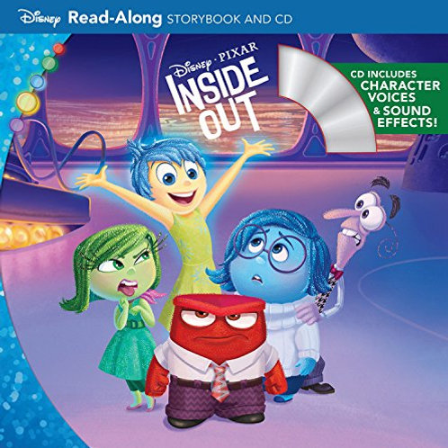 Disney - Inside Out Read-Along Story Book and CD
