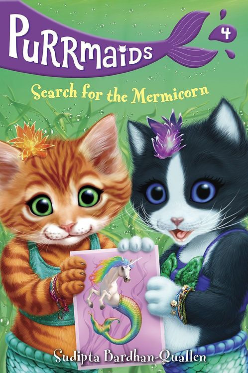 Purrmaids (Book 4) - Search for the Mermicorn