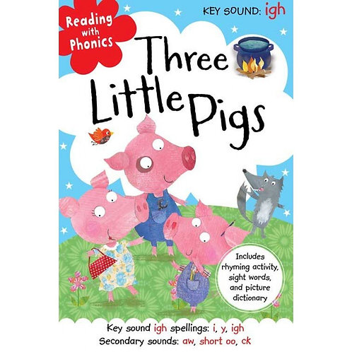 """Reading with Phonics - """"Three Little Pigs"""""""