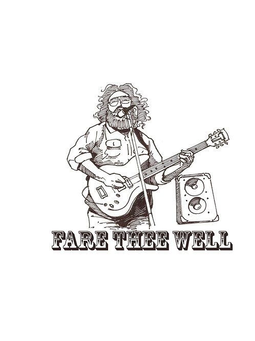 Jerry Fare Thee Well Shirt