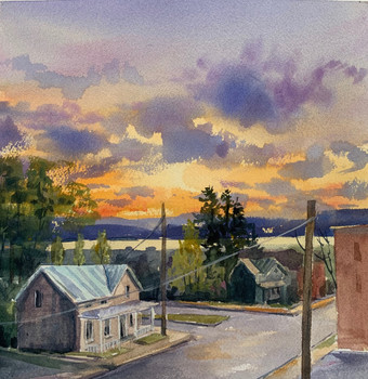 Rhinecliff Sunset