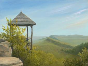 Overlooking the Gunks - Spring