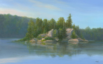 Sanctuary Pond - John Burroughs