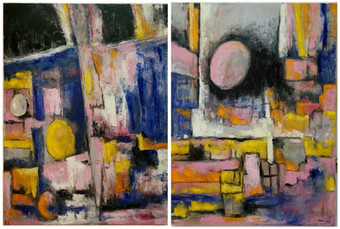 Diptych: Before Anyone Realized / Later on That Morning