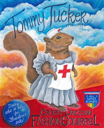 Tommy Tucker: Cross Dressing Fashion Squirrel